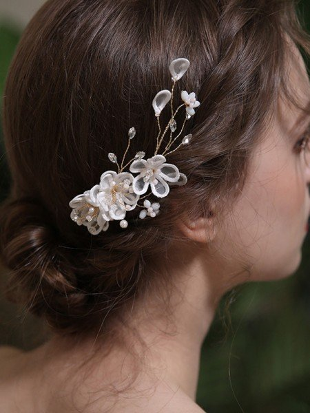 Glamorous Alloy With Crystal/Imitation Pearl Combs&Barrettes Headpieces
