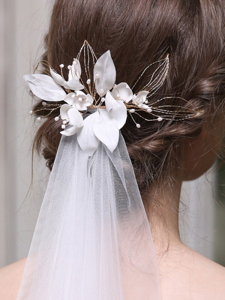 Shinning Alloy With Imitation Pearl Combs&Barrettes Headpieces