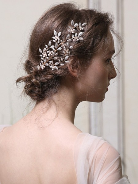 Nice With Pearl Alloy Combs&Barrettes Headpieces