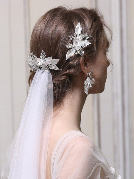 Extraordinary Alloy With Rhinestone Combs&Barrettes Headpieces