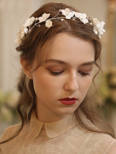 Pretty Alloy With Imitation Pearl/Flower Combs&Barrettes Headpieces