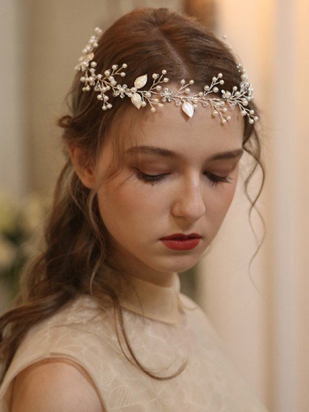 Charming Alloy With Imitation Pearl Combs&Barrettes Headpieces