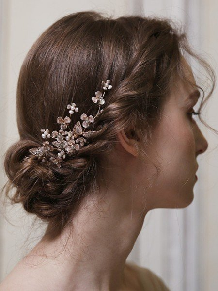 Fineness Alloy With Pearl Combs&Barrettes Headpieces