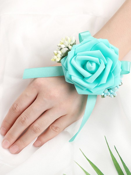 Lovely Foam Wrist Corsage